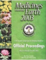 2003 Medicines from the Earth