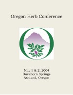 2004 Oregon Herb Conference