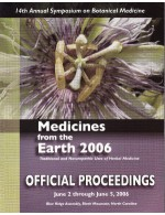 2006 Medicines from the Earth