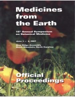 2007 Medicines from the Earth
